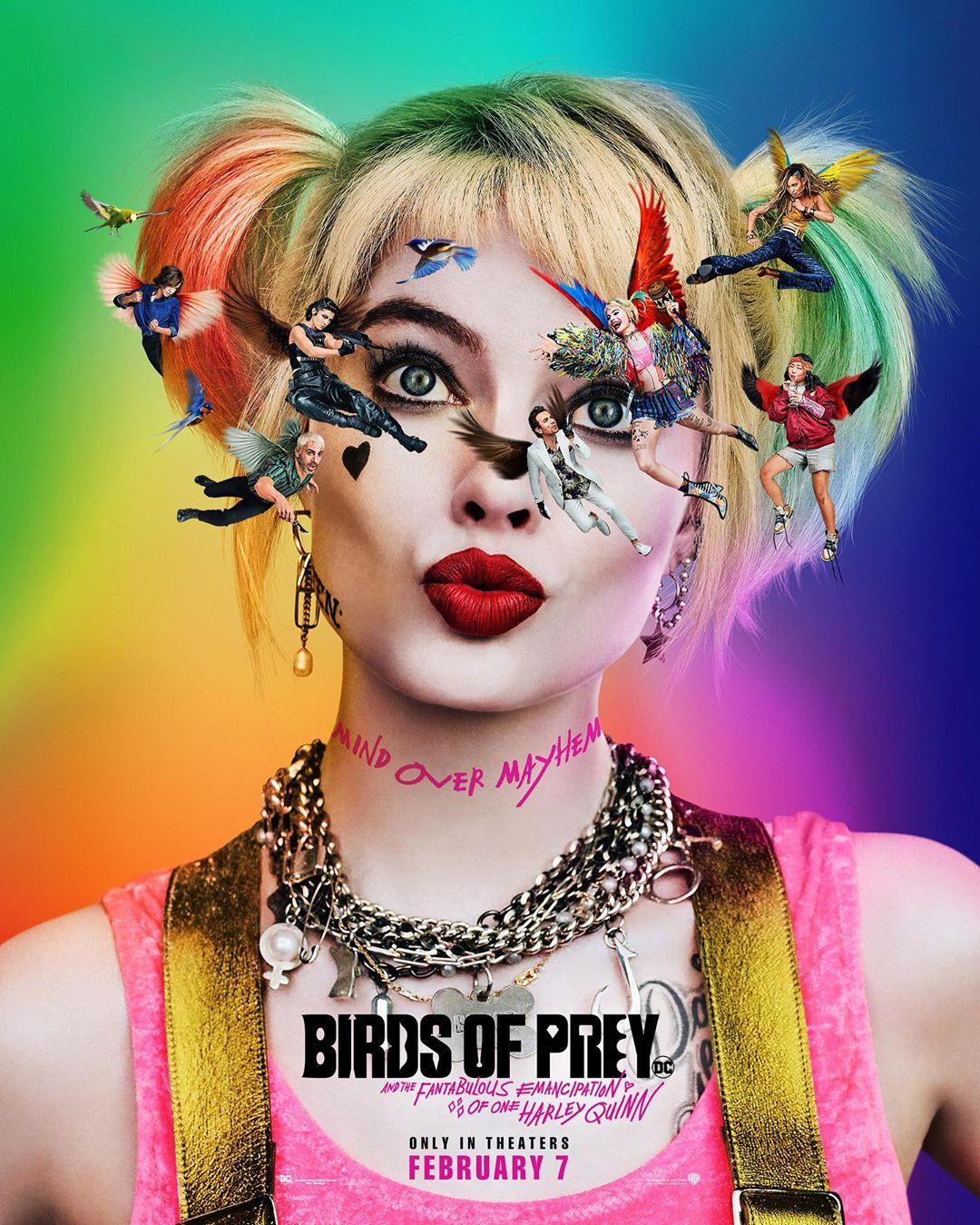 Photo of Revelan nuevo póster para el film 'Birds of Prey' que se estrena en el 2020