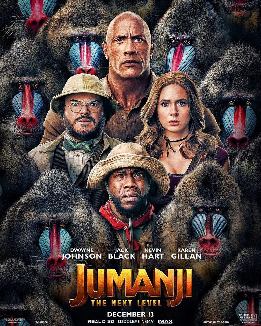 Photo of 'Jumanji: siguiente nivel' estrena su primer poster oficial