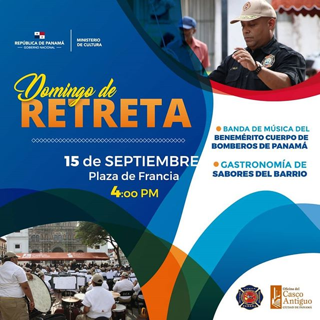 Photo of 'Domingo de Retreta' en Plaza Francia este 15 de septiembre