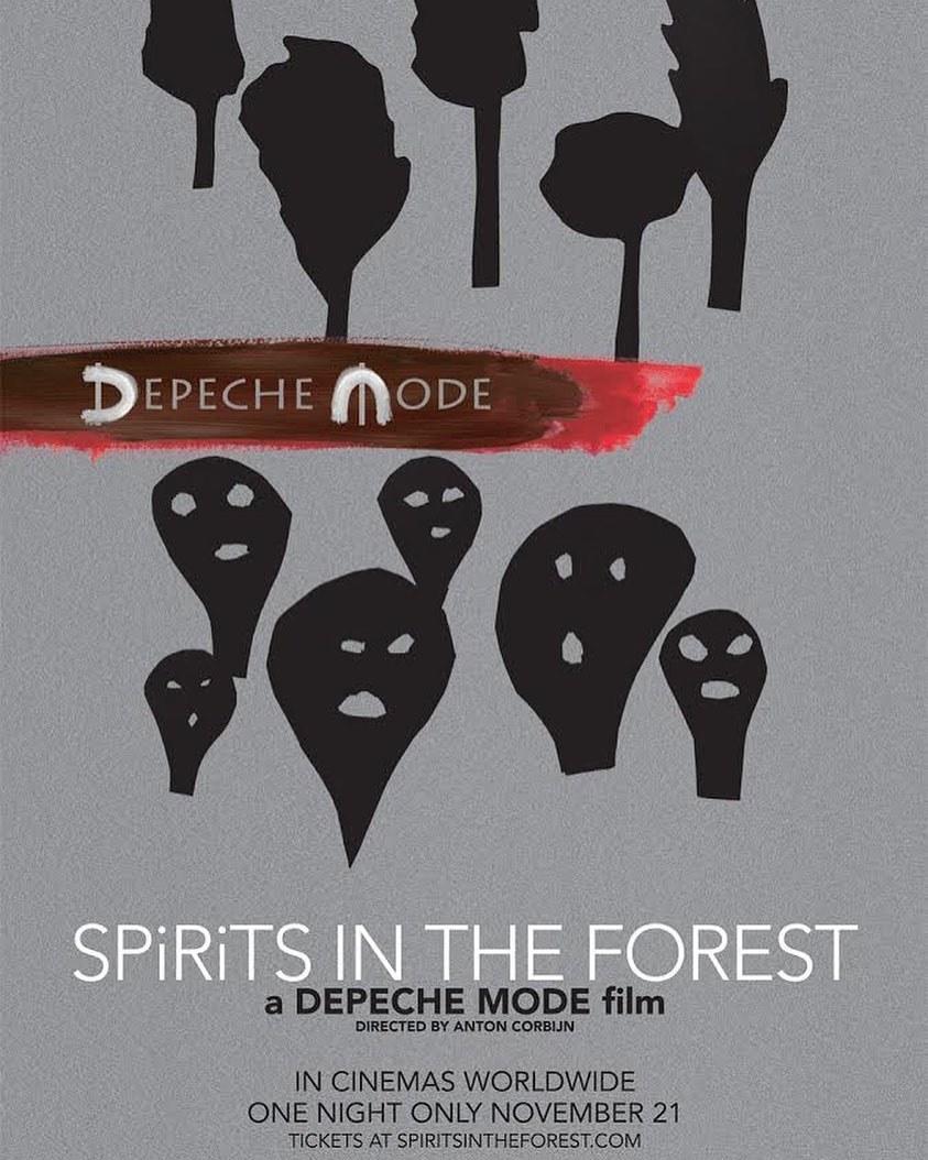 Photo of 'Depeche Mode' llegará a la pantalla grande con su película llamada Spirits in the Forest