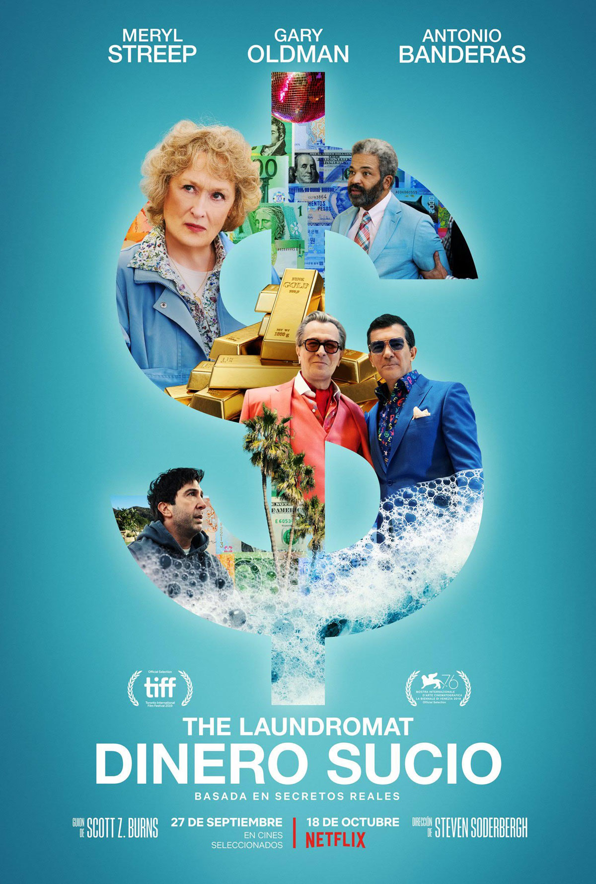 Photo of 'The Laundromat: dinero sucio' una historia basada en hechos reales