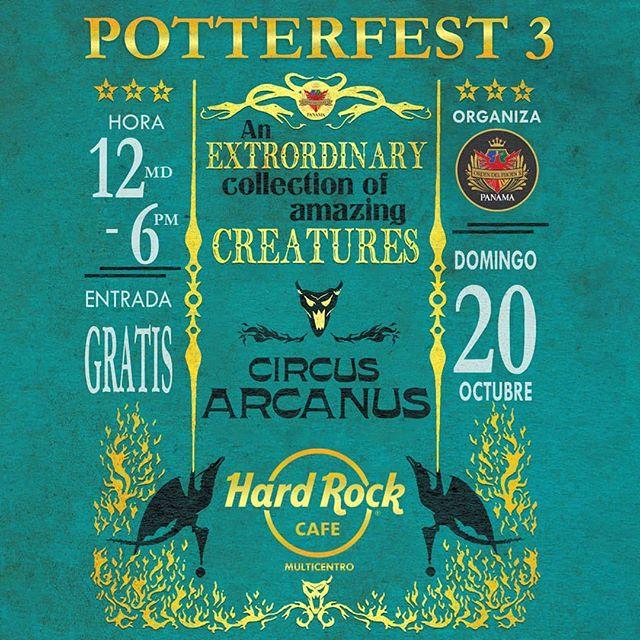 Photo of «Potter Fest 3» en Panamá este 20 de octubre