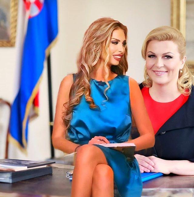 Photo of Ava Karabatic una ex modelo Playboy anuncia su candidatura a la presidencia de Croacia