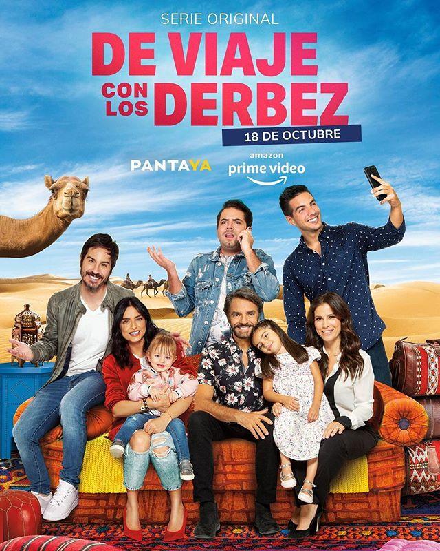 Photo of Amazon Primer presenta 'De Viaje con los Derbez'