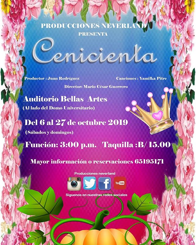 Photo of Producciones Neverland presentan 'Cenicienta'