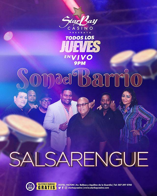 Photo of Starbay Casino presenta 'Todos los Jueves en Vivo' con Salsa y Merengue