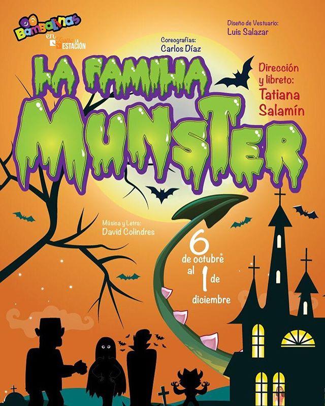 Photo of Bambalinas en Teatro la Estación presentan 'La Familia Munster'
