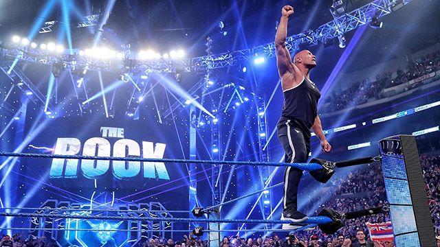 Photo of Dwayne Johnson 'The Rock' de regreso a la WWE