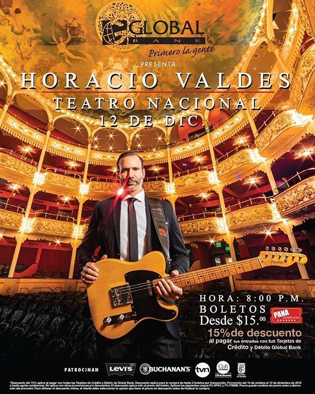Photo of Concierto de Horacio Valdes en el Teatro Nacional de Panamá
