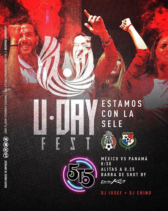 Photo of Este martes 15 de octubre la emoción del fútbol llega a la disco 5to5 con el 'U Day Fest'