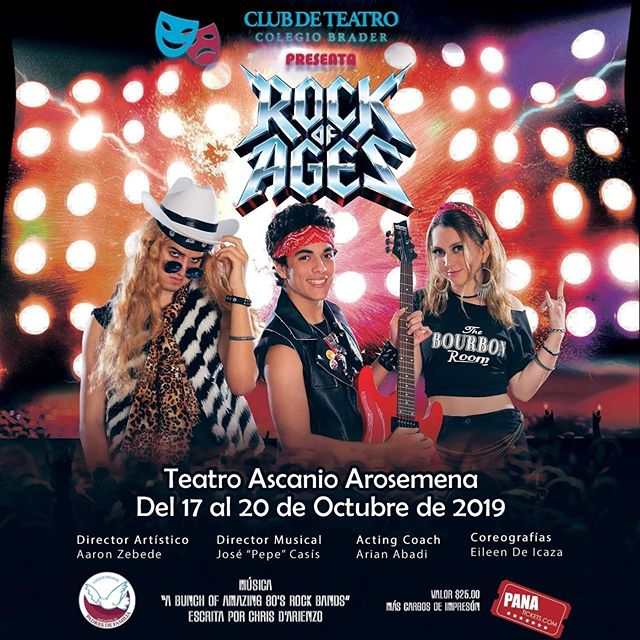 Photo of Club de Teatro Colegio Brader presenta 'Rock Of Ages' en Teatro Ascanio Arosemena
