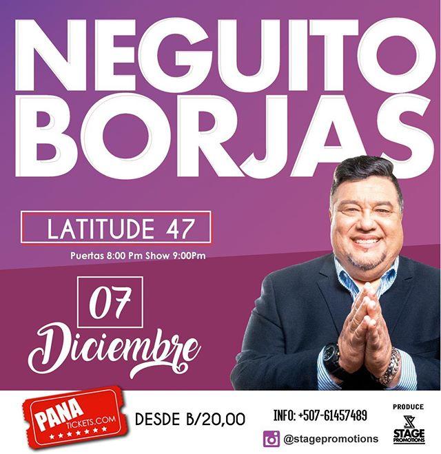 Photo of Neguito Borjas estará en concierto en Panamá