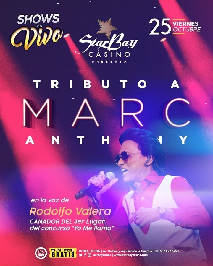 Photo of Starbay presenta un tributo a 'Marc Anthony' este 25 de octubre