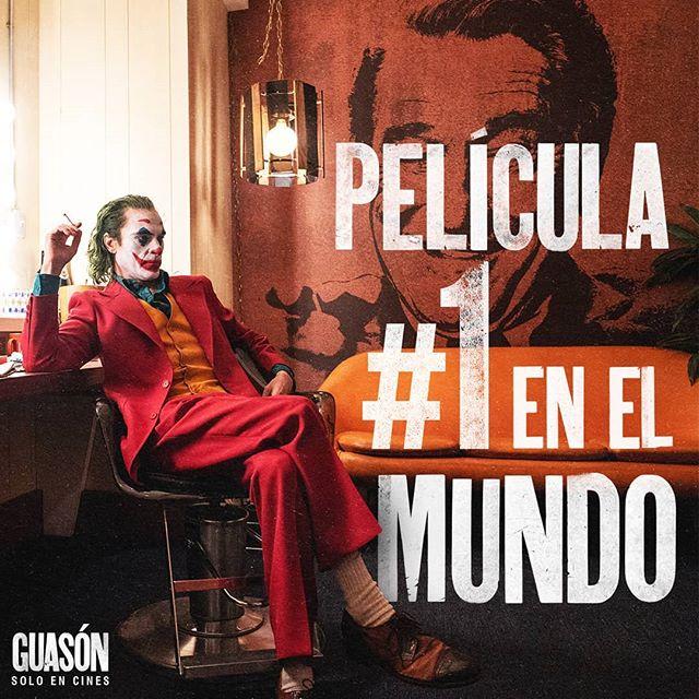 Photo of La película 'Guasón' se convierte la número 1 en el mundo