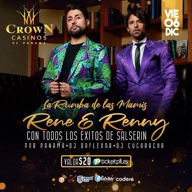 Photo of Panamá presenta 'La rumba de las mamis con Rene y Renny' en concierto