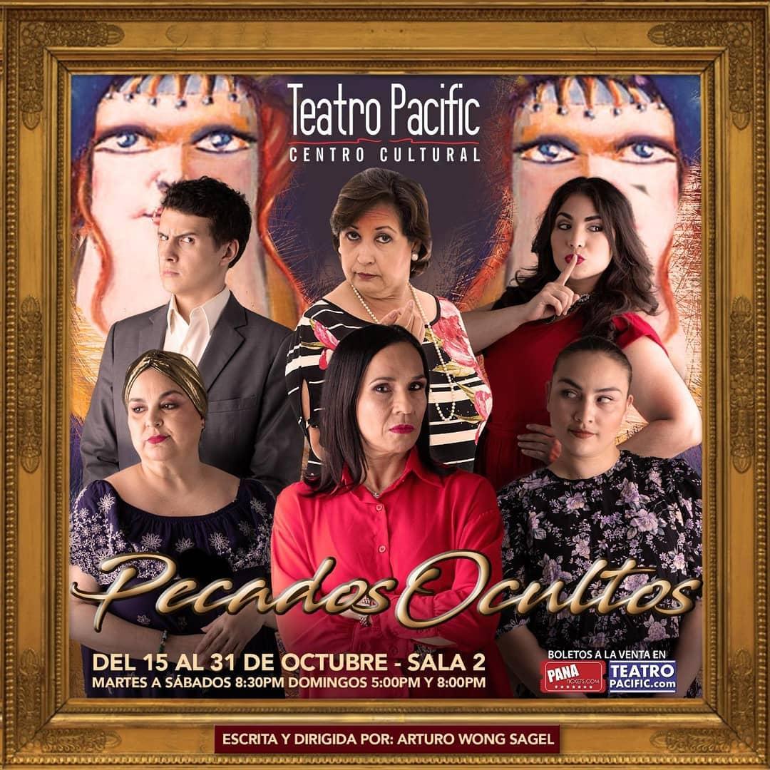 Photo of Teatro Pacific presenta la obra 'Pecados Ocultos'