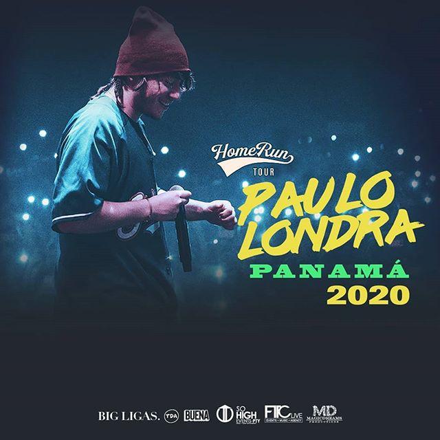 Photo of ¡Nueva fecha! el concierto de Paulo Londra en Panamá será para el 2020