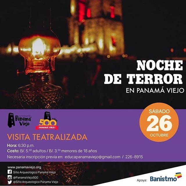Photo of Noche de Terror en Panamá Viejo