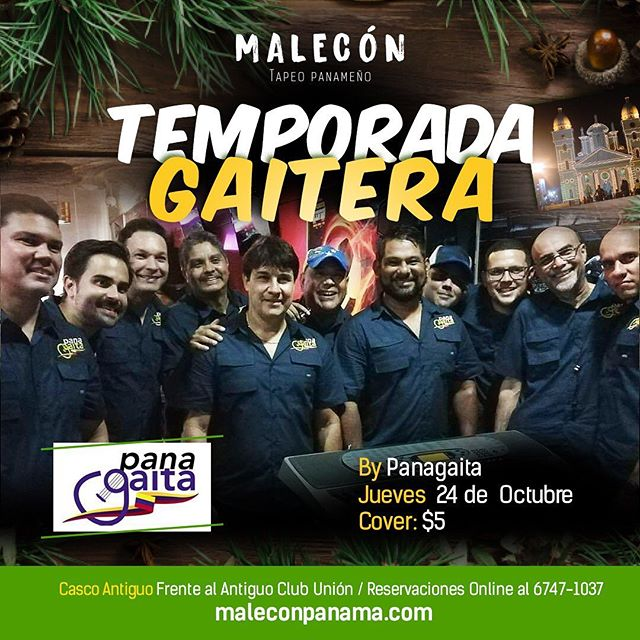 Photo of Malecón Panamá presenta 'Temporada Gaitera'