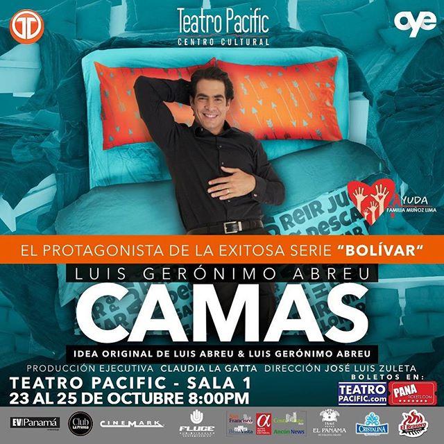 Photo of Llega a Panamá la obra 'Camas' con Luis Gerónimo Abreu