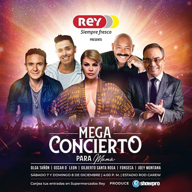 Photo of Showpro anuncia su próximo 'Mega Concierto' para mamá este 07 y 08 de diciembre