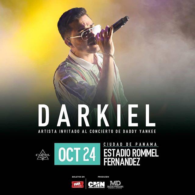 Photo of Darkiel es el invitado especial para el concierto de Daddy Yankee en Panamá