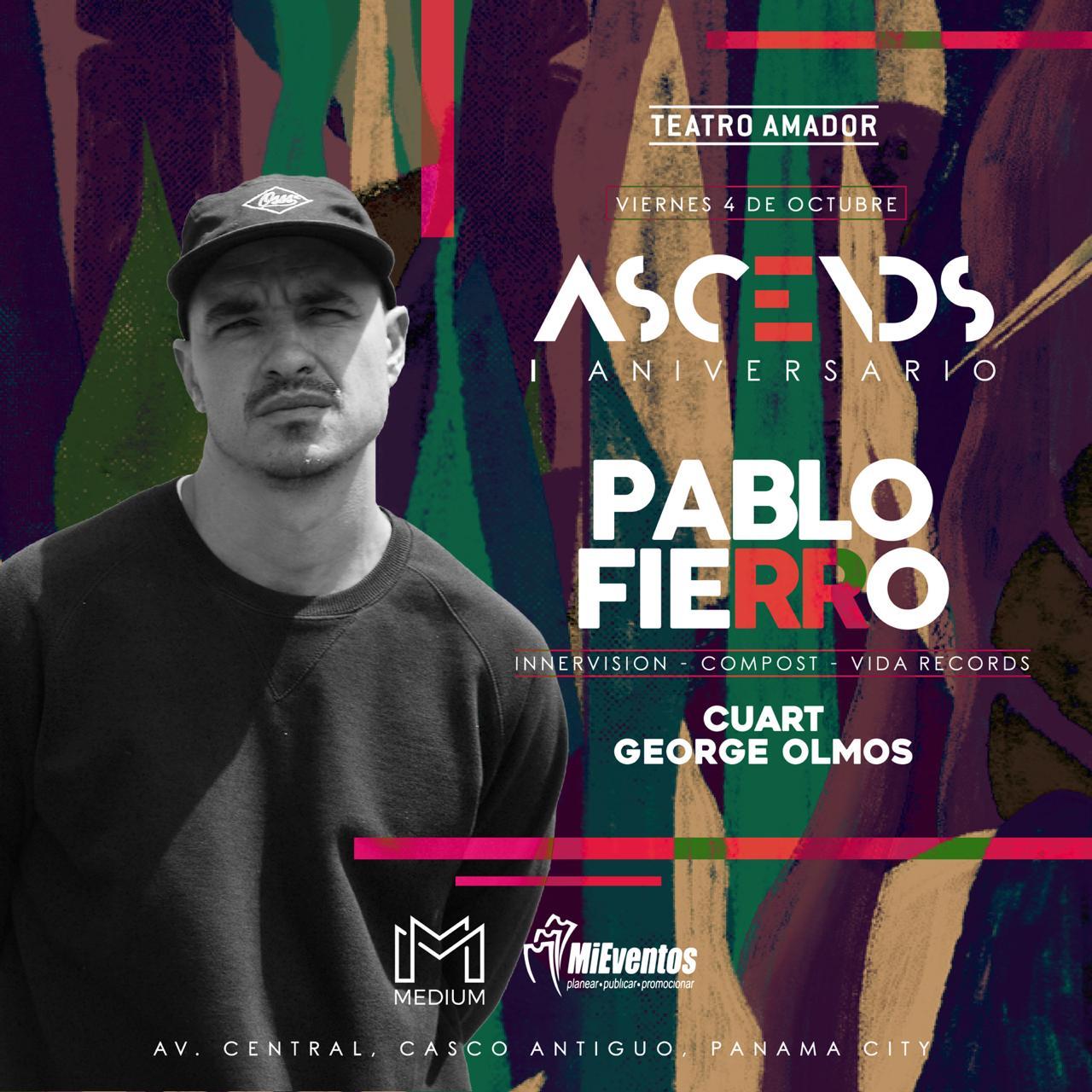 Photo of Ascends Aniversario I con Pablo Fierro en Teatro Amador