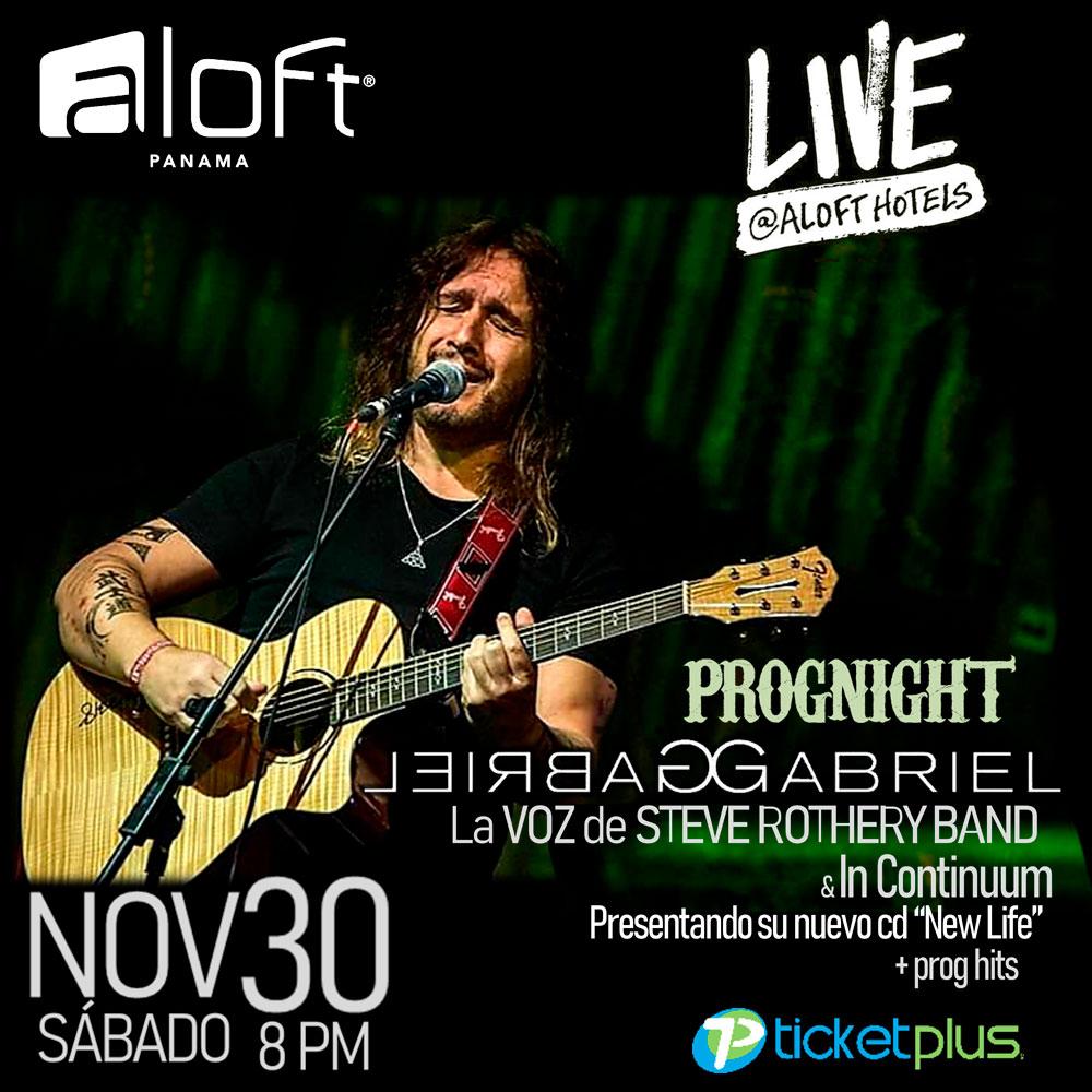 Photo of Aloft Panamá presenta una noche con Gabriel en vivo