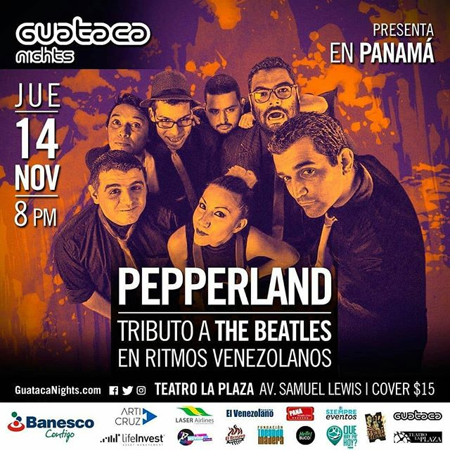 Photo of Guataca Nights presenta en Panamá Pepperland 'Tributo a The Beatles en ritmos venezolanos'