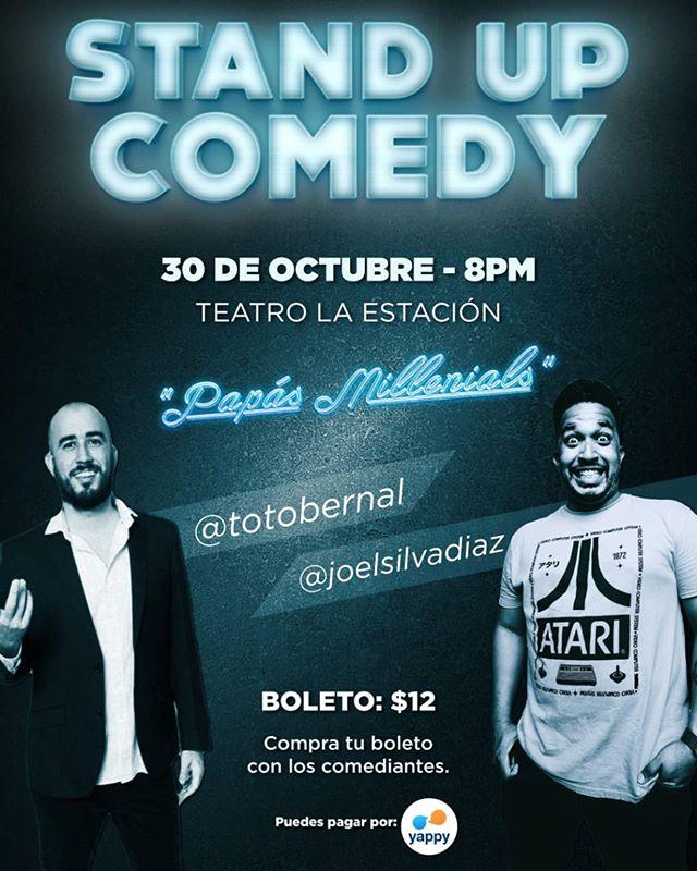 Photo of Stand Up Comedy 'Papás Millenials' con Joel Silva y Abraham 'Toto' Bernal