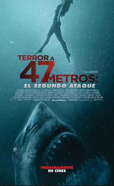 Photo of Estreno de 'Terror a 47 Metros: Segundo Ataque'