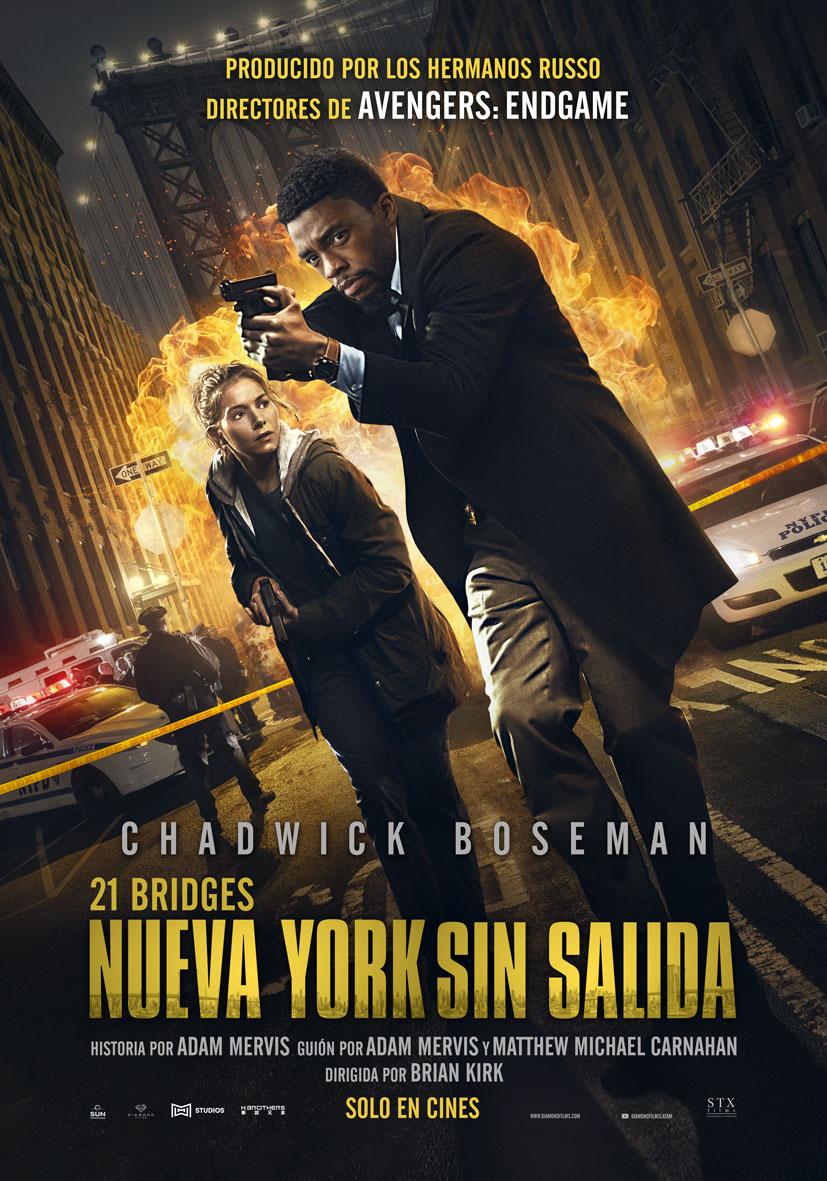 Photo of Este 05 de diciembre estrena en los cines de Panamá 'Nueva York sin Salida'