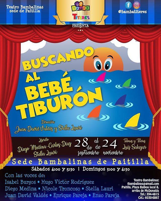 """Photo of """"Buscando el Bebé Tiburón» en Teatro Bambalinas"""