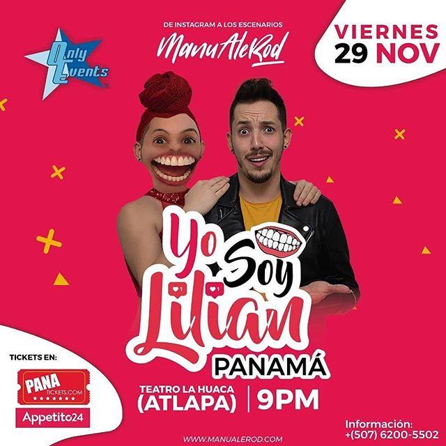 Photo of El comediante Manuel Rodríguez estará en Panamá con su show 'Yo Soy Lilian'
