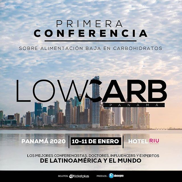 Photo of Showpro presenta en Panamá 'Low Carb' la primera conferencia de alimentación
