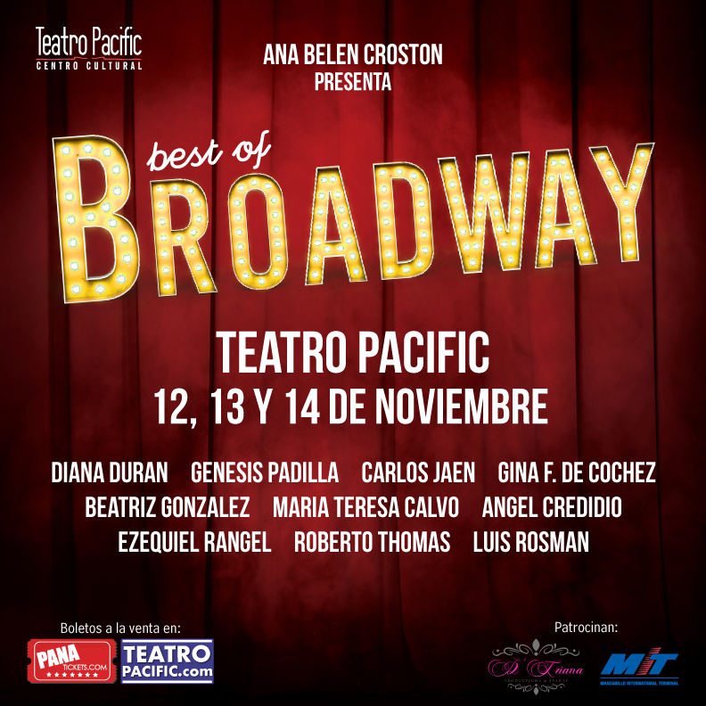 Photo of Show 'El Best of Broadway' en Teatro Pacific