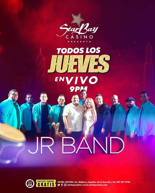Photo of Starbay Casino presenta a 'La JR Band' en un show en vivo