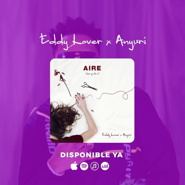 Photo of Eddy Lover y Anyuri estrenan 'Aire'