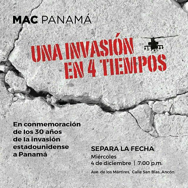 Photo of Mac Panamá presenta una exposición de arte «Una Invasión En 4 Tiempos»