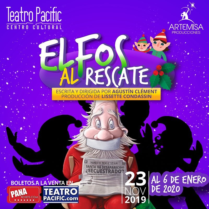 Photo of La navidad llega a Teatro Pacific con la obra 'Elfos Al Rescate'