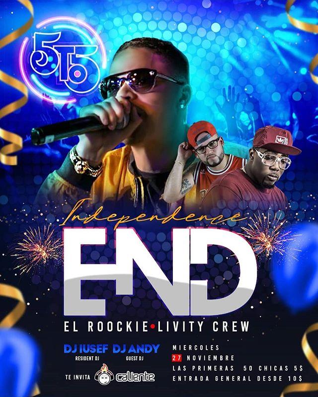Photo of 5to5 presenta 'Independence End' con el Roockie y Livity Crew