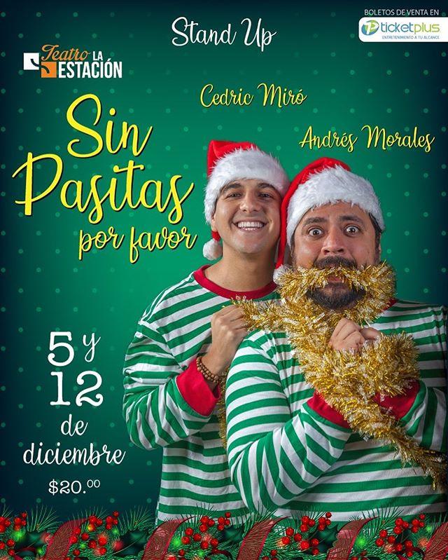 Photo of Cedric Miró y Andrés Morales se unen para el Stand Up Comedy 'Sin Pasitas por favor'