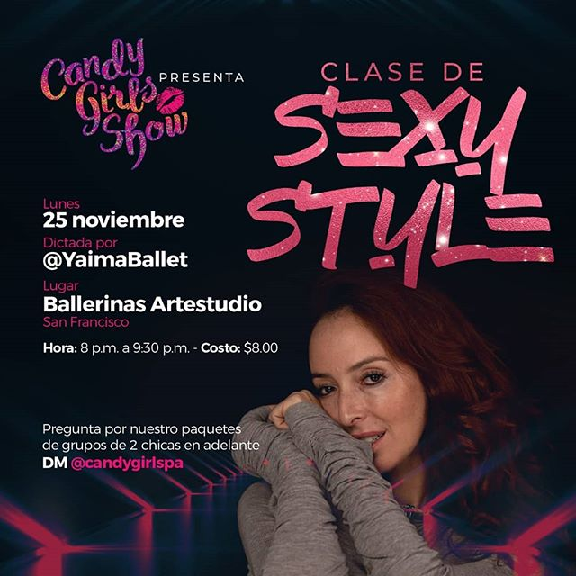 Photo of Candy Girls Show presentan 'Clase de Sexy Style'