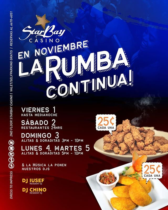 Photo of Starbay casino presenta promociones en las Fiestas Patrias