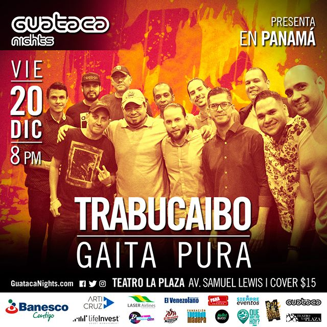 Photo of Guataca Panamá presenta a la agrupación 'Trabucaibo' Gaita Pura en concierto