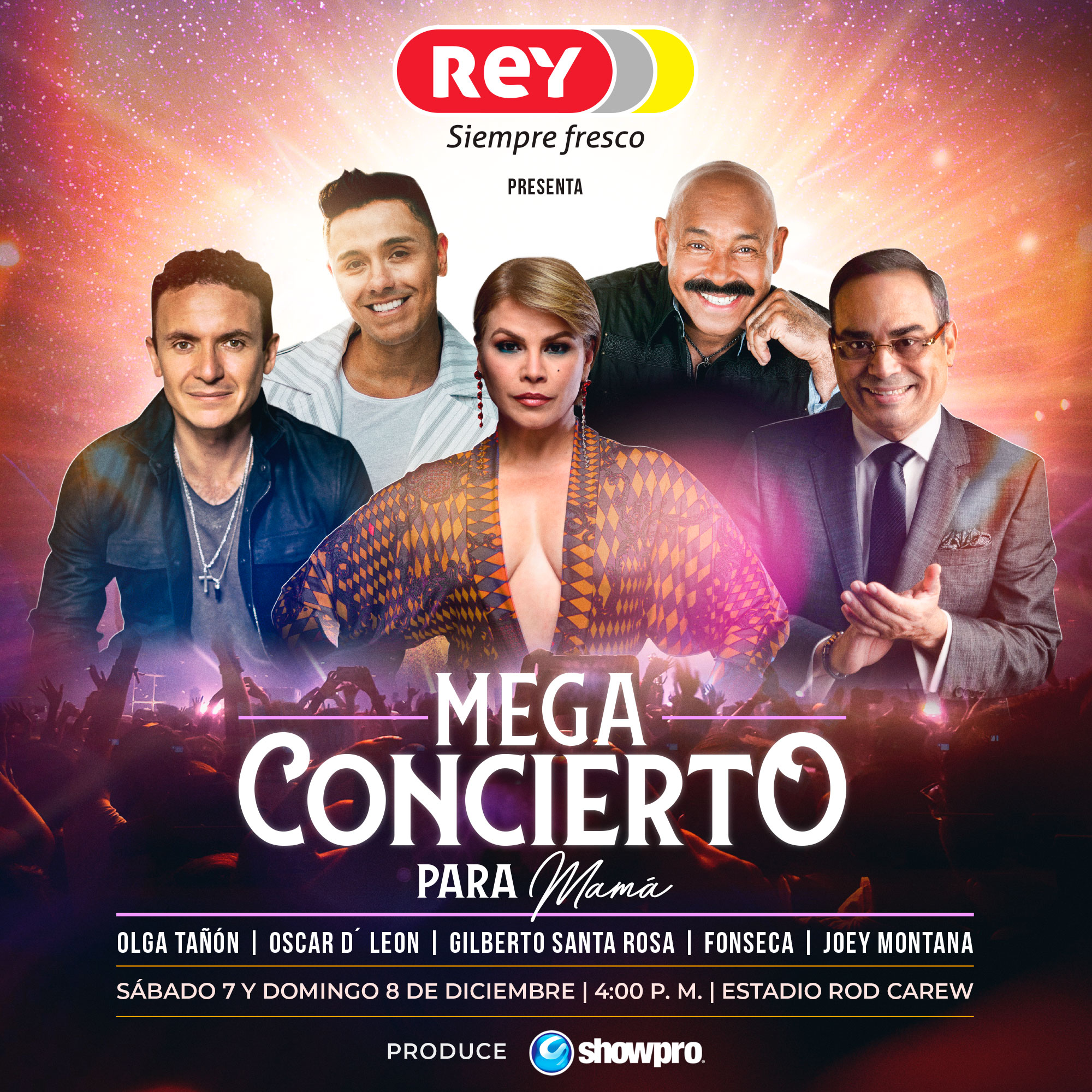 Photo of Ya están a la venta las entradas para el Mega Concierto para Mamá! en el Estadio Rod Carew