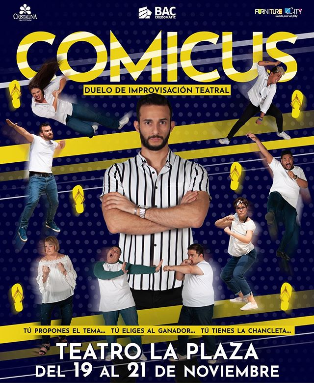 Photo of Duelo de improvisación teatral 'Comicus' en Teatro la Plaza