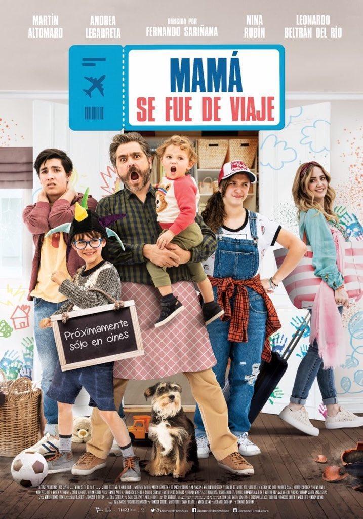Photo of Estreno en cines de «Mamá se fue de viaje»