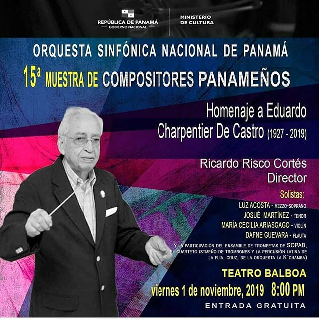 Photo of Orquesta Sinfónica Nacional presenta 15° Muestra de Compositores Panameños