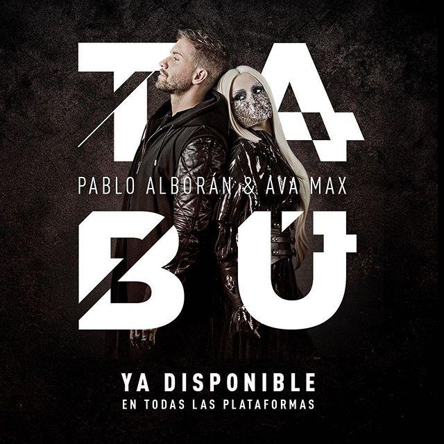 Photo of Pablo Alborán junto a Ava Max lanza»Tabú»